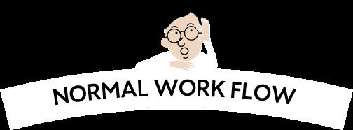 NORMAL WORK FLOW